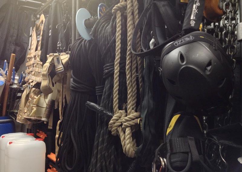 Stunt Rigging Equipment